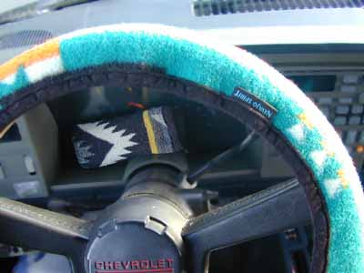 Steering Wheel Cover - Seat Belt set