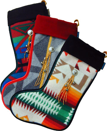 Wooly Christmas Stocking